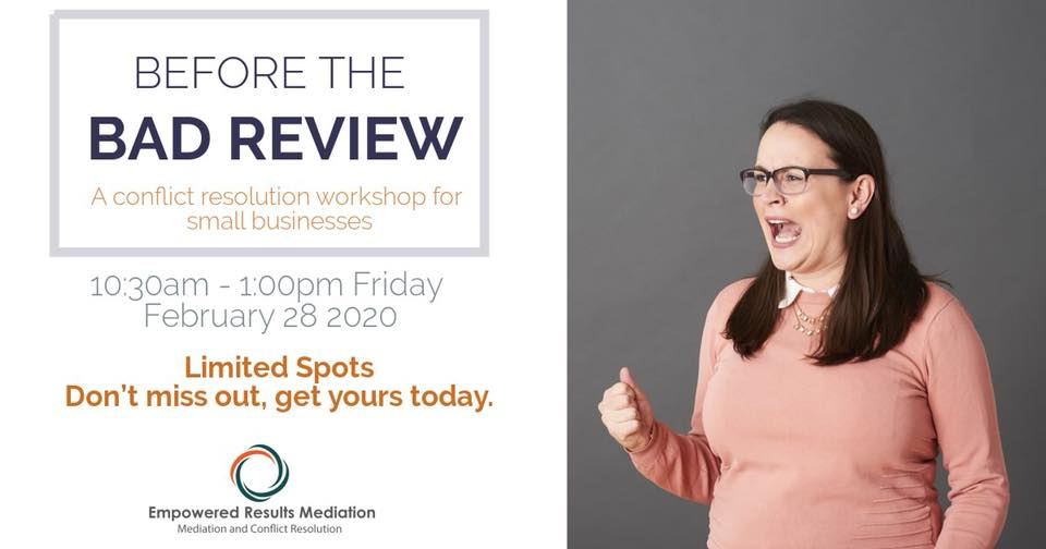 bad review small business workshop
