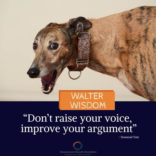 Conflict Resolution Advice Walter Wisdom