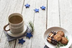 clio&fox mug and cookies