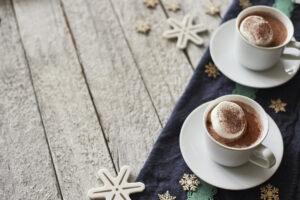 two mugs of hot chocolate clio&fox